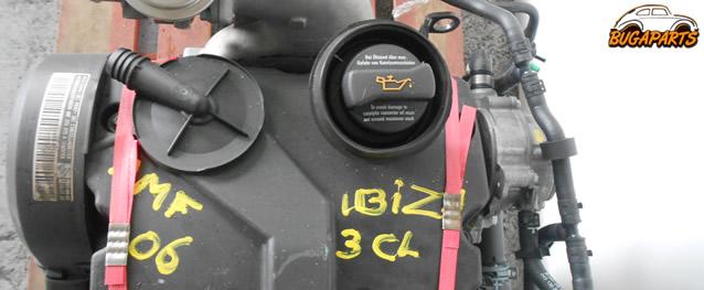 Motor VOLKSWAGEN POLO / SEAT IBIZA 1.4 TDI 75cv Ref.AMF