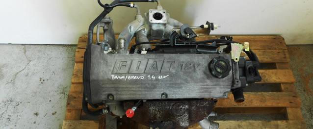 Motor FIAT BRAVO / BRAVA 1.4 12V 80cv Ref. 182A3000