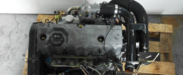 Motor MITSUBISHI LANCER V 2.0D 68cv Ref. 4D68