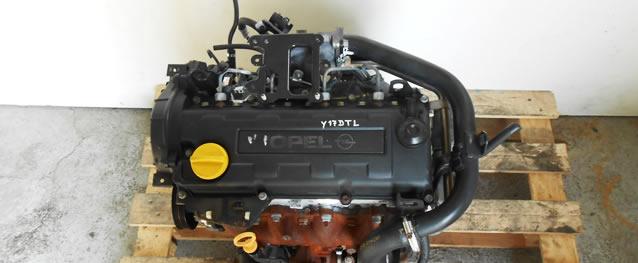 Motor OPEL CORSA C 1.7DI 65cv Ref. Y17DTL