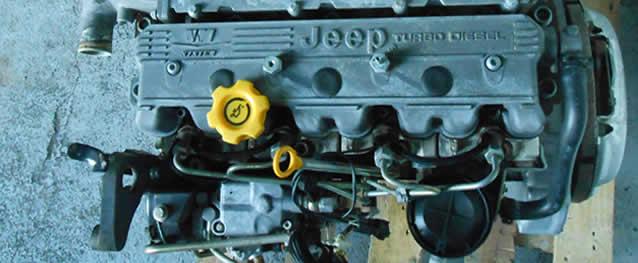Motor JEEP GRAND CHEROKEE 2.5TD 115cv