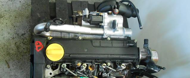 Motor RENAULT CLIO 1.5DCI 80cv Ref. K9K702