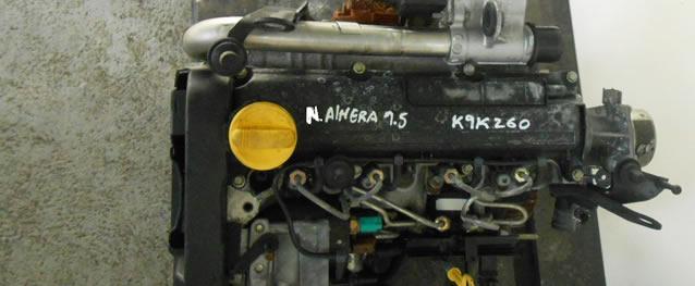 Motor NISSAN ALMERA 1.5DCI Ref. K9K260