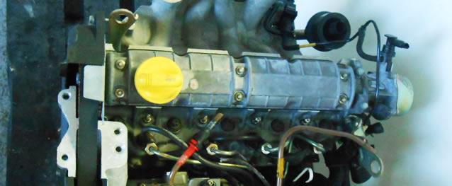 Motor RENAULT CLIO 1.9D Ref. F8Q630