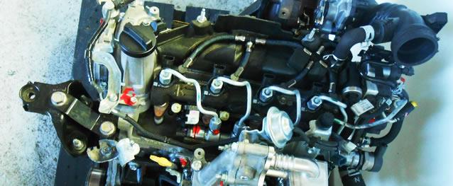Motor TOYOTA YARIS 1.4 D4D 90cv Ref. 1ND-TV