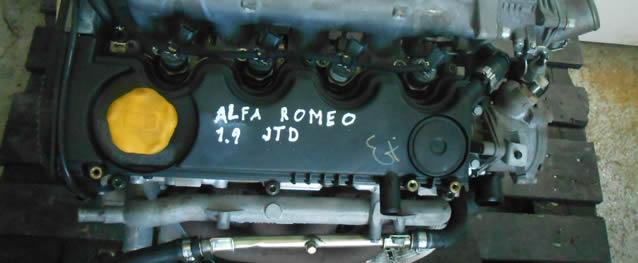 MOTOR ALFA ROMEO 156 1.9JTD 115CV Ref. 937A2000