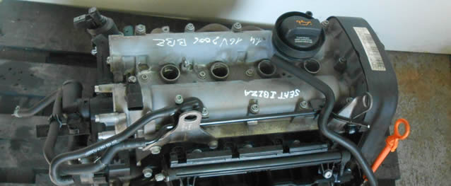 MOTOR VAG SEAT IBIZA 1.4 16V Ref. BBZ