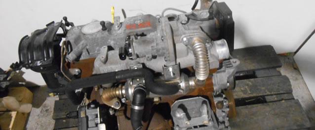 Motor Ford Focus C-Max 1.8TDCI 115cv Ref. KKDA