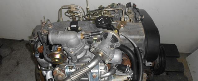 Motor Mitsubishi L300 2.5D 69cv 8V Ano 1994 Ref. 4D56