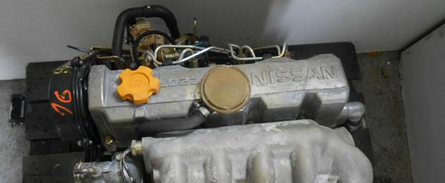 Motor Nissan Serena 2.3D 75cv Ref. LD23 (LD23A)