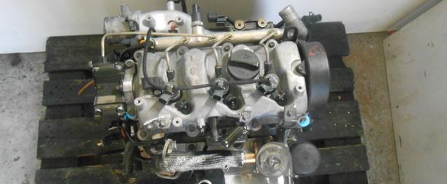 Motor Hyundai Matrix / Accent II 1.5CRDI 82cv Ref. D3EA