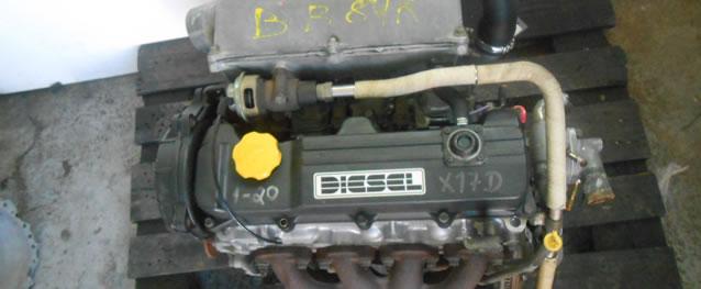 Motor Opel Corsa B 1.7D 60cv Ref. X17D
