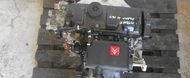Motor PSA Citroen Xsara 1.4i 8V 75cv Ref. KFX