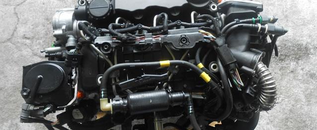 Motor PSA Peugeot 207 1.6HDI 90cv Ref. 9HX