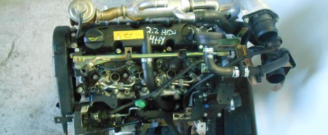 Motor PSA Peugeot Boxer 2.2HDI Ref. 4HY