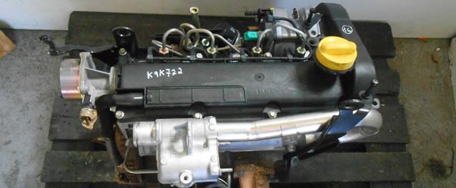 Motor Renault Megane II 1.5DCI 82cv Ref. K9K722
