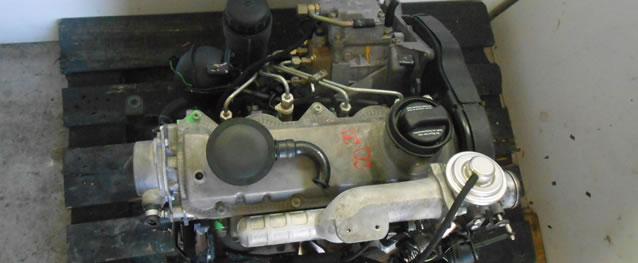 Motor VAG Seat Toledo II / Volkswagen Golf IV 1.9TDI 90cv Ref. ALH
