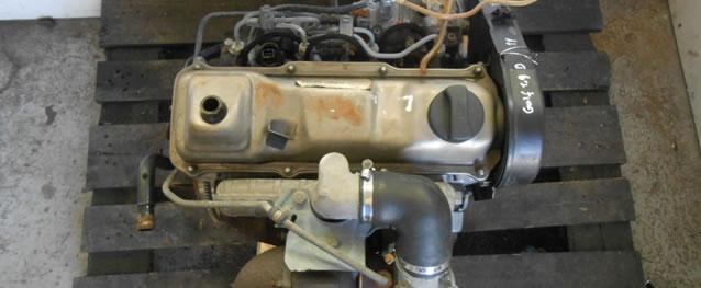 Motor VAG Volkswagen Golf II 1.6TD 60cv Ref. 1V