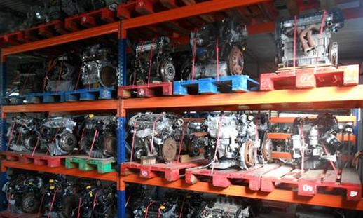 estante motores usados 2