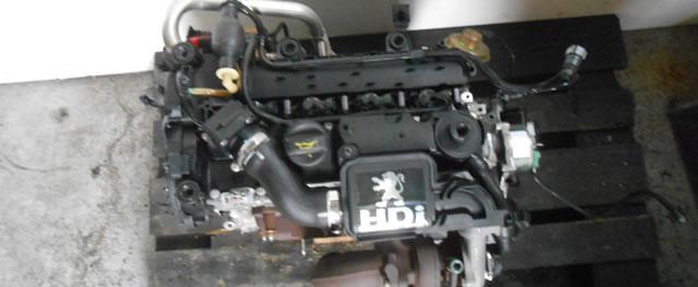 Motor PSA Peugeot 206 1.4HDI eco 70 68cv Ref. 8HX