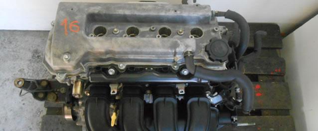 Motor Toyota Corolla 1.4 16V 97cv Ref. 4ZZ