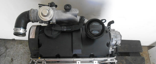 Motor VAG Audi A3 1.9TDI 130cv Ref. ASZ