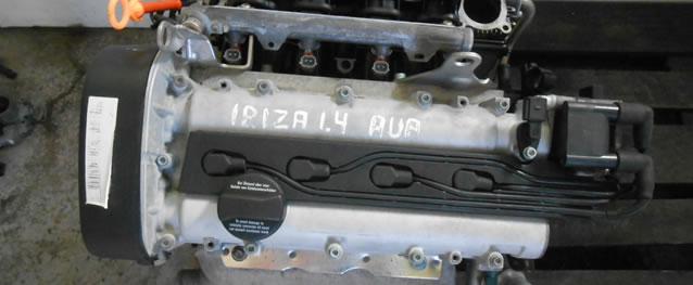 Motor VAG Seat Ibiza 1.4 16V 75cv Ref. AUA