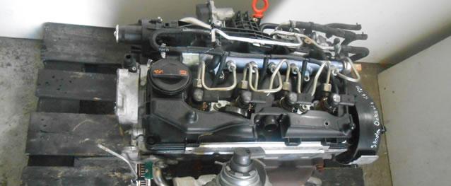 Motor VAG Skoda Octavia 1.6TDI 105cv Ano 2010 Ref. CAYC