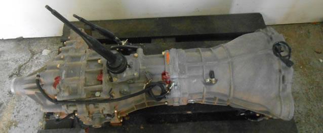 Caixa Velocidades Nissan Terrano II 2.7TD Ano 2005