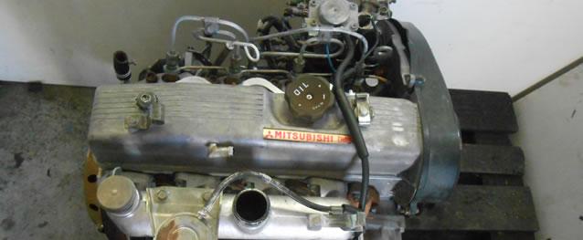 Motor Mitsubishi Pajero II 2.5TD 99cv Ref. 4D56