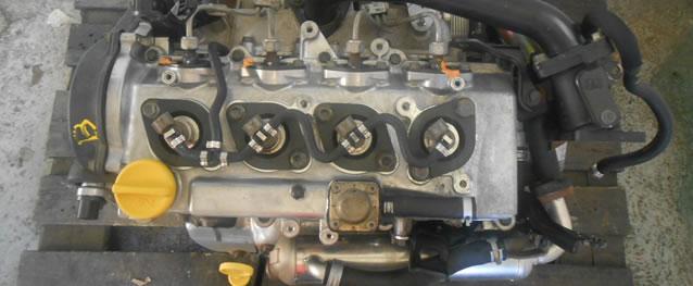 Motor Opel Meriva 1.7CDTI 100cv Ref. Z17DTH (Injecção Denso)