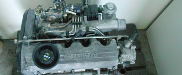 Motor Fiat Punto 1.7TD 71cv Ref. 176A5000