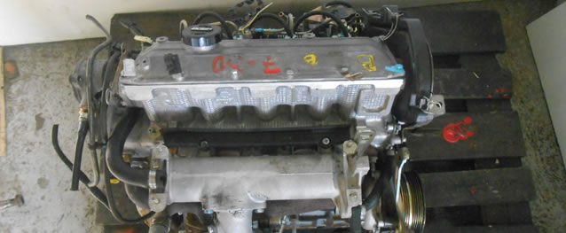 Motor Fiat Punto (176) 1.7TD 63cv Ref. 176B7000