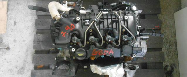 Motor Ford C-Max 1.6TDCI 109cv Ref. G8DA