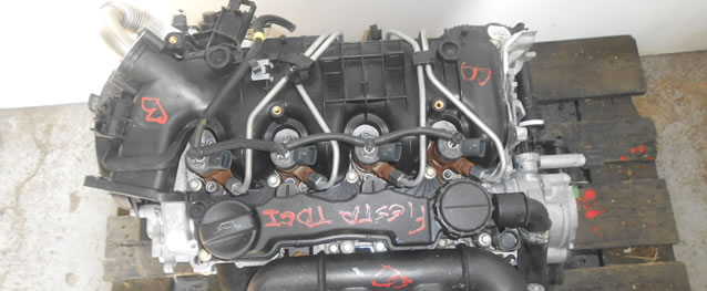 Motor Ford Fiesta 1.6TDCI 100cv Ref. FFDA