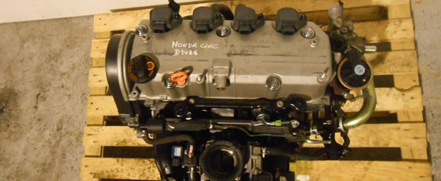 Motor Honda Civic 1.4 90cv Ano 2004 Ref. D4Z6