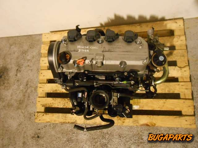 Motor honda civic 1 4 90cv ano 2004 ref d4z6 log02 for Motores honda civic usados