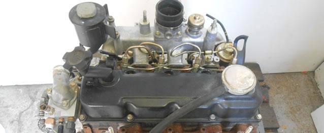 Motor Nissan Navara (D22) 2.5TD Ano 2001 Ref. TD25