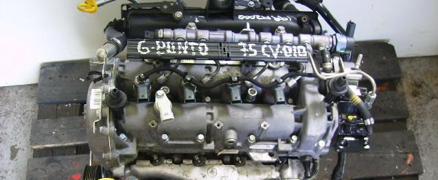 Motor Fiat Grande Punto 1.3MJet 75cv Ref. 199A2000