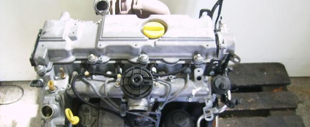 Motor Opel Astra G 2.0 DTI Ano 2001 Ref. Y20DTH