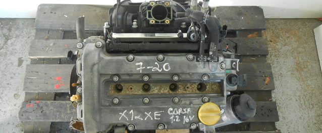 Motor Opel Corsa B 1.2 16V 65cv Ref. X12XE