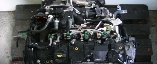Motor PSA Peugeot 207 1.6HDI 109cv Ref. 9H06