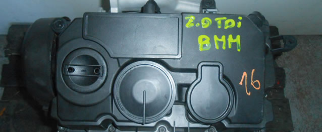 Motor Reconstruido VAG Audi A3 2.0TDI 140cv Ref. BMM