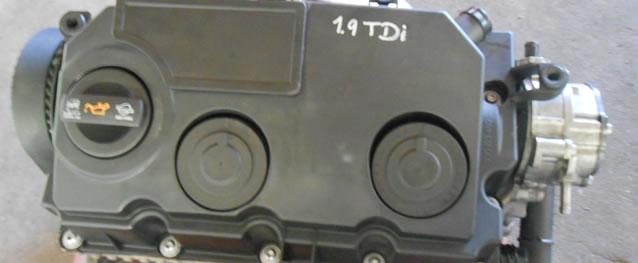 Motor Reconstruido Volkswagen Golf V 1.9TDI 105cv Ref. BLS