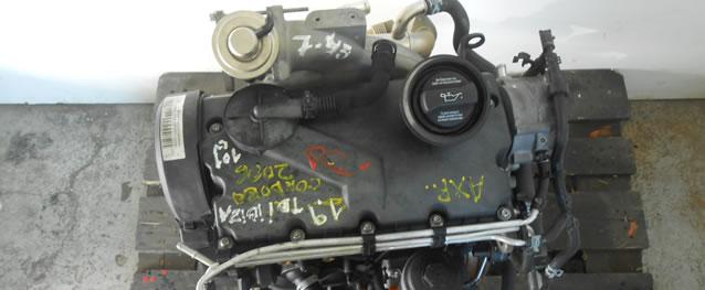 Motor VAG Seat Ibiza / Cordoba 1.9TDI 101cv Ano 2006 Ref. AXR